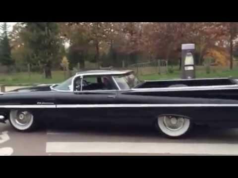 Big sound chevy El Camino 1959 top chop air ride  YouTube