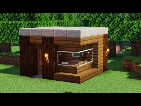 Stylish And Compact - A Minecraft Starter House Build Guide