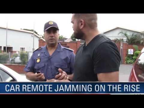 Car Remote Jamming and Jamming Detector