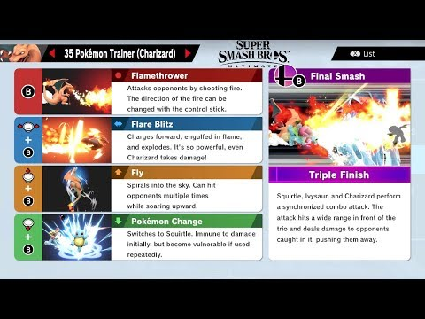 Super Smash Bros Ultimate How To Play & All Characters Move List!