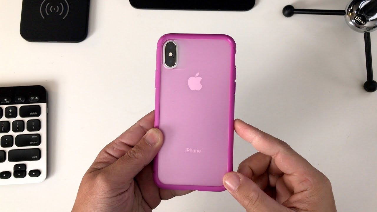 quality design 3c8d4 f2867 Caudabe Synthesis Case for the iPhone X