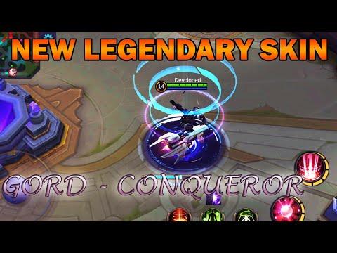 AMAZING!!! NEW LEGENDARY SKIN - GORD CONQUEROR