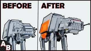 CAN you make an AT-AT Walker into a AT-ACT? The Best way HOW TO CONVERT YOUR AT-AT