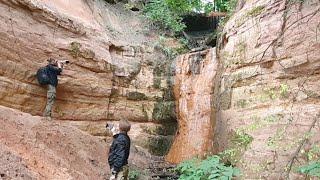 Стрим Из Саблино. Пещеры, водопады, река Тосно