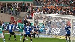 SV Werder Bremen gegen Arminia Bielefeld 8:1