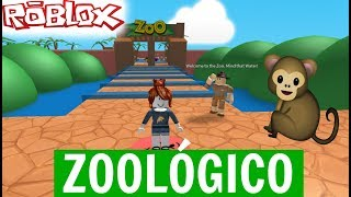 Roblox-ESCAPE the ZOO   MATSURA GAMES