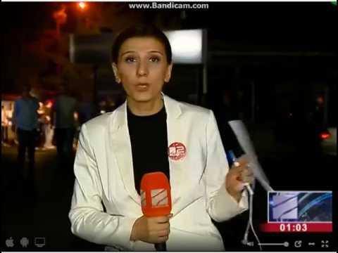 ხანძრის კადრები რუსთავი 2 ის შენობიდან xandzris kadrebi rustavi 2 is shenobidan