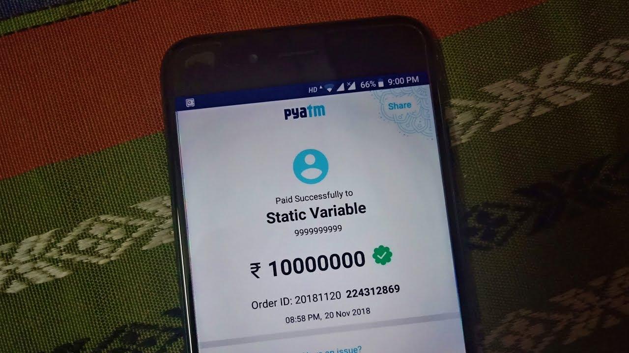 Paytm Spoof App Tutorial | Paytm Hack 2018