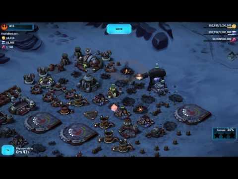 Star Wars Commander-Rebels-Tips for Beginners- Level 6-7 Base Defense vs. Full Level 10 Empire