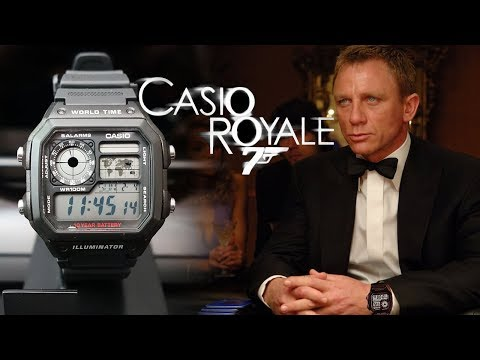 "$14 Super Value! Casio ""Royale"" AE1200WH-1A World Time Digital Watch Review - Perth WAtch #113"