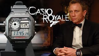 """$14 Super Value! Casio """"Royale"""" AE1200WH-1A World Time Digital Watch Review - Perth WAtch #113"""
