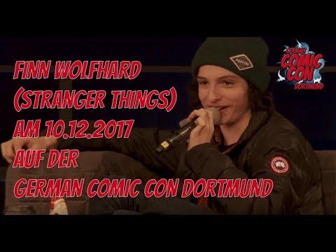 Finn Wolfhard (Stranger Things) Panel @ German Comic Con Dortmund 2017
