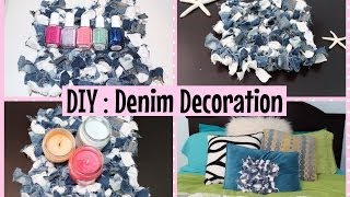 DIY: Denim Room Decoration Thumbnail