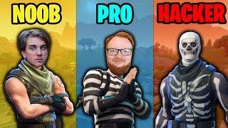 NOOB vs PRO vs HACKER #2 (Svenska Fortnite Funny Moments & Highlights)