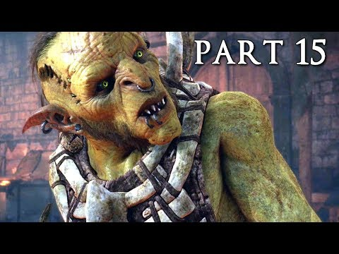 SHADOW OF WAR Walkthrough Gameplay Part 15 - Bruz (Middle-earth)