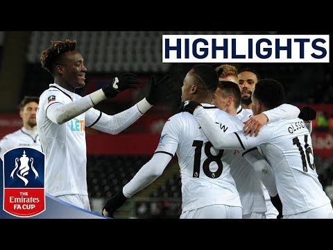 Swansea 2-0 Sheffield Wednesday | Swans Reach the Quarter-finals! | Emirates FA Cup 2017/18