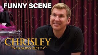 Chrisley Knows Best | Todd Rejects Savannah's Dress Choice | Funny Scene | Season 2 Episode 4