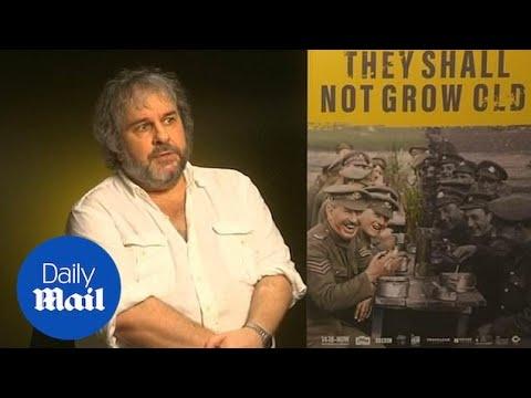 Director Peter Jackson On His New WW1 Documentary Film