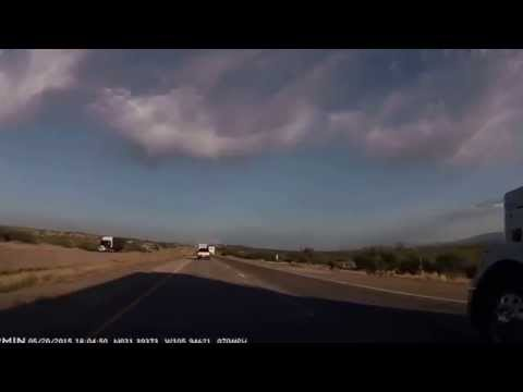 A Border Patrol check in dry Far West Texas: Leaving Rio Grande for Van Horn 2015-05-20