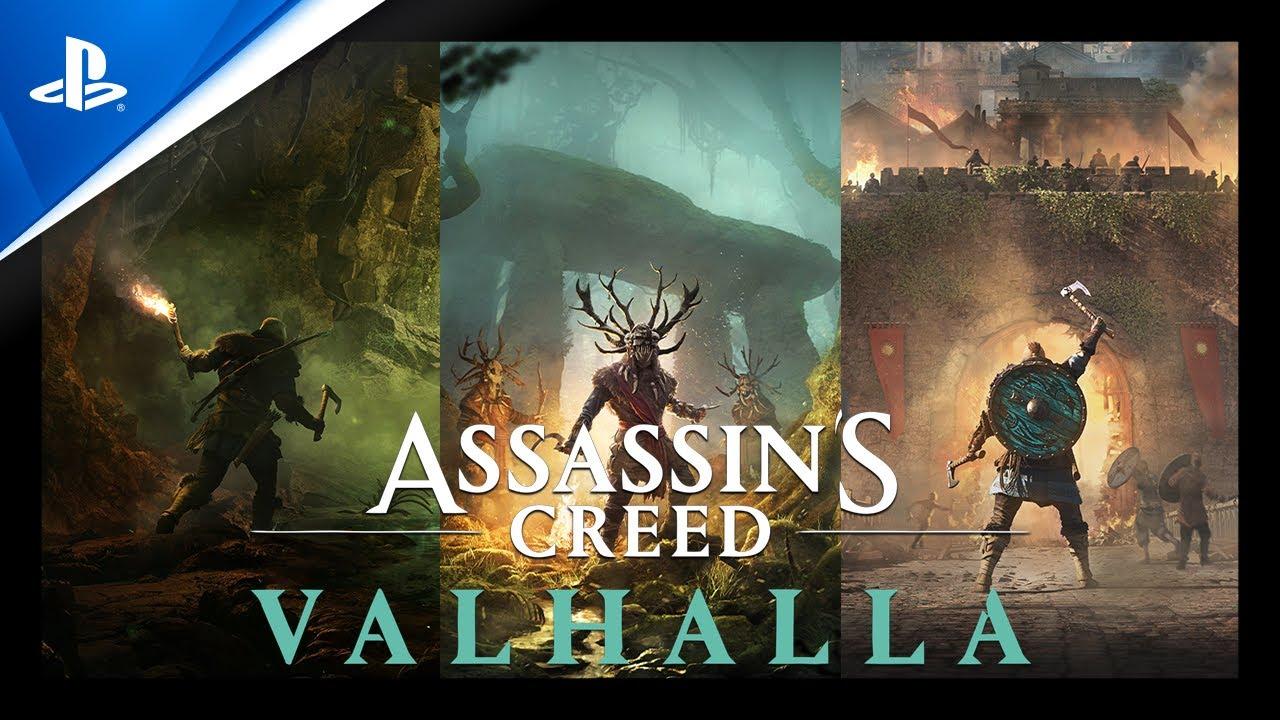 Assassin's Creed Valhalla -Tráiler PS5 Poslanzamiento con subtítulos en ESPAÑOL | PlayStation España