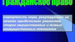Презентация на тему Отрасли Российского права