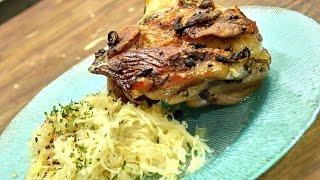 Eisbein oder Schweinshaxe mit Sauerkraut selber machen | Kanal-ELF | Rezept #127