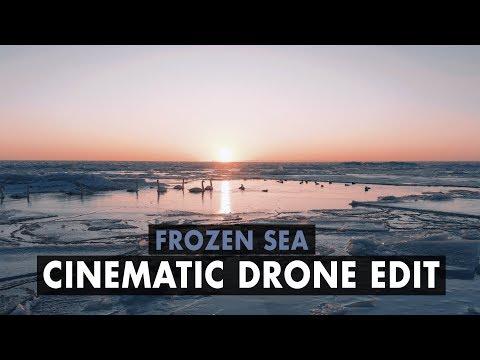 FROZEN SEA | CINEMATIC DRONE EDIT | MAVIC AIR