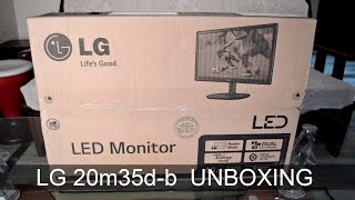 LG 20m35d-b 19.5 inch LED Monitor | Unboxing India
