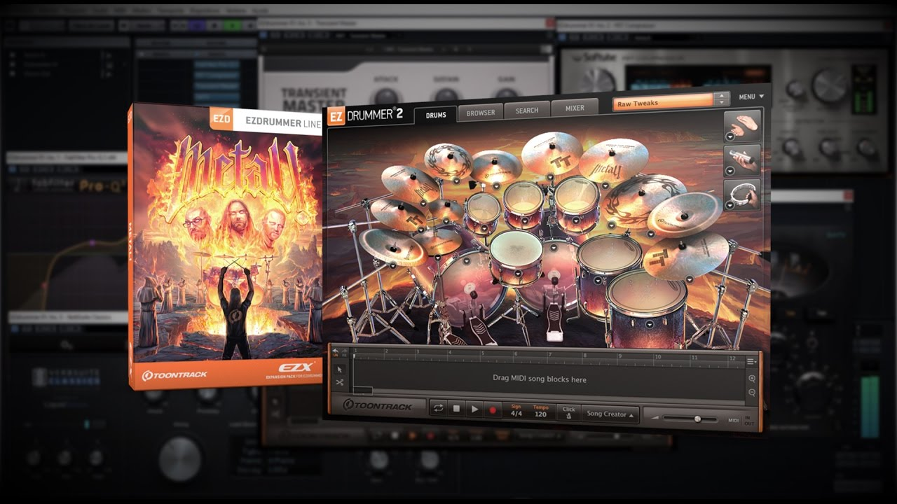EZX METAL!: Drum Bus lite Processing