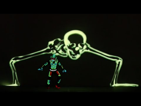 Watch This LED Interactive Tron Costume Act by Skeleton Dance Crew ...