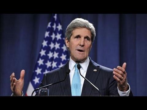 Kerry Announces Plan to De-Escalate Ukraine Tensions