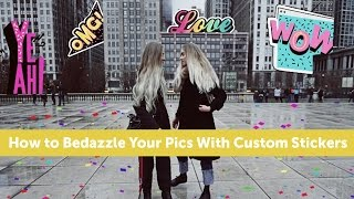 How to Use FREE Custom Stickers on PicsArt