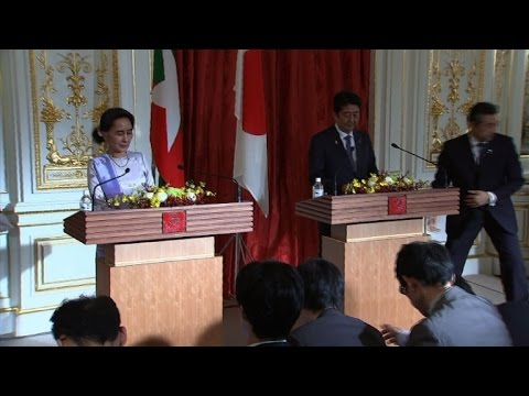 Japan announces nearly $8 bn for Myanmar development