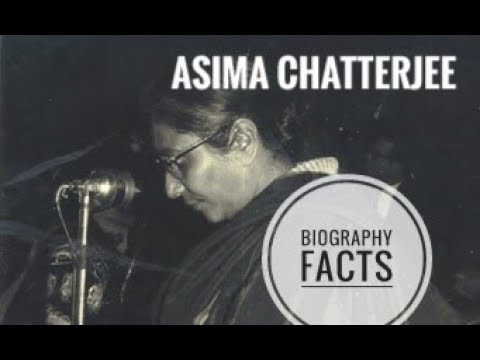 Asima Chatterjee  Biography & Facts