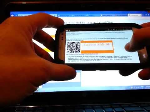 Install Adobe Flash Player on Android Mobile Phone