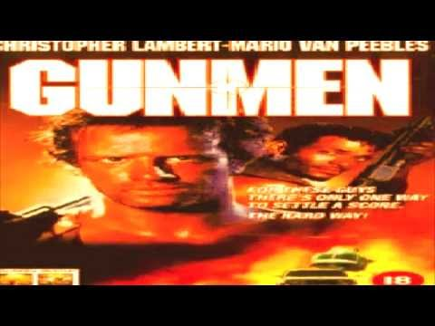 GUNMEN (1993) - HD Trailer (Funny cheesy action movie) restored version
