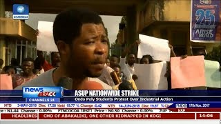 Ondo Poly Students Protest ASUP Strike