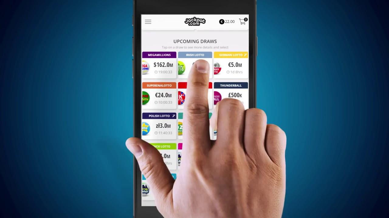 Bet on the Irish Lotto Draw with the Jackpot com App