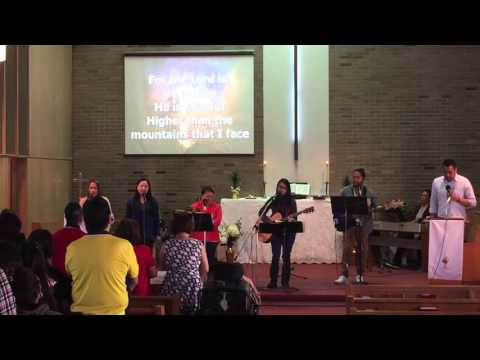 """On The Throne"" - Desperation Band cover (PAECUSA Praise & Worship)"
