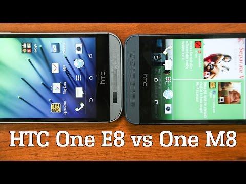 HTC One M8 vs HTC One E8