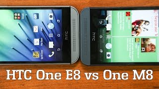 HTC One M8 vs HTC One E8