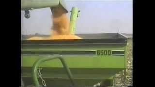 KLEIN FARMS LIBERTY, IN FALL 1989 HARVESTING CORN BERTCH FARM IN LOTUS, IN