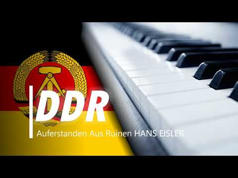 National Anthem of East Germany-PIANO