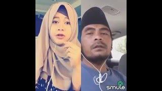 Smule lucu Duet cewek cantik vs orang Madura nyanyi lagu jawa