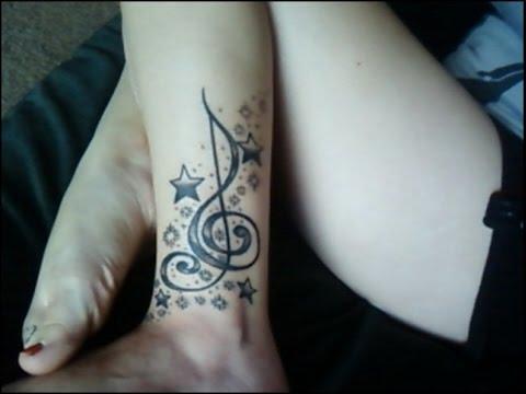 Tatuajes De Notas Musicales Youtube