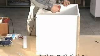 DIY466 책상에서 식탁으로 변신하는 무빙테이블 1