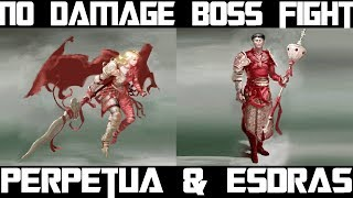 Esdras and Perpetua no damage boss fight, Perpetua should die first, blasphemous