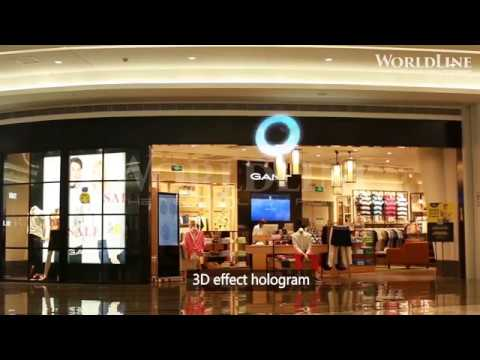 WorldLine Technology - HoloExpo Application In Mall