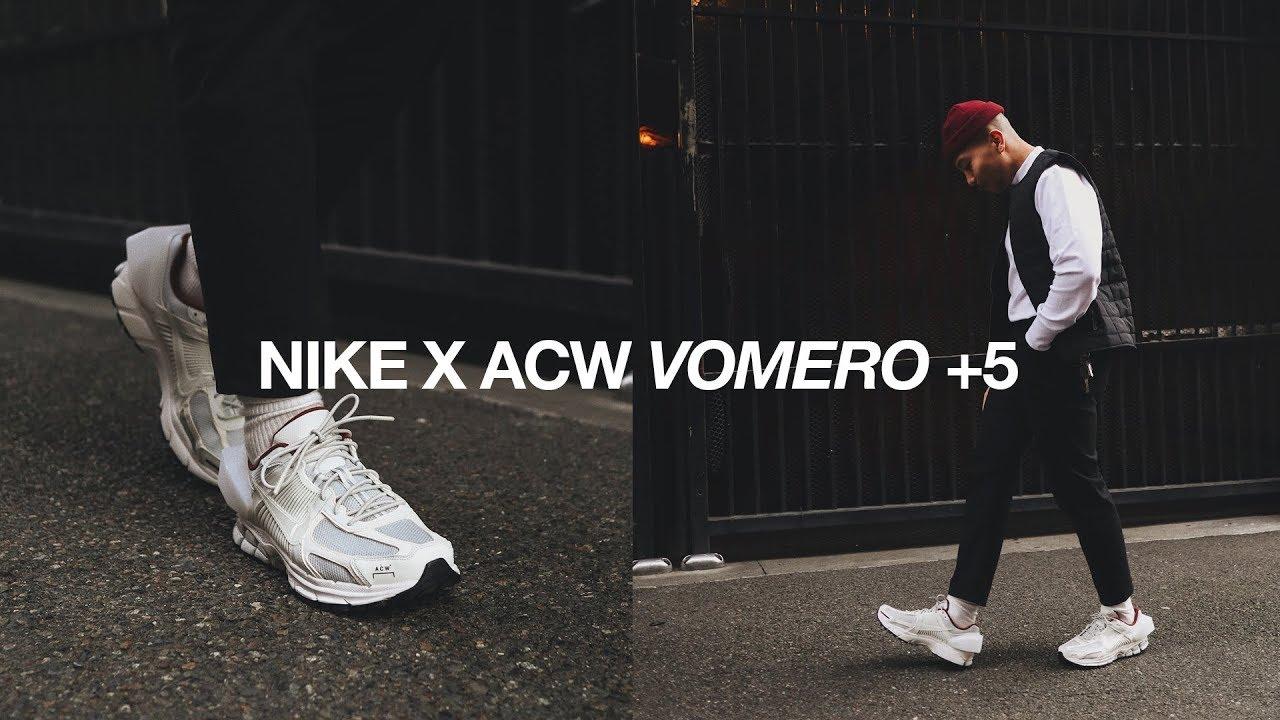 NIKE x ACW Zoom Vomero +5 / Styling +