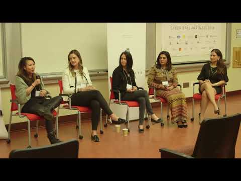 Women in Blockchain Panel at UCLA Cyber Days (Feb. 2018)